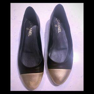 Chanel Cap Toe Flats